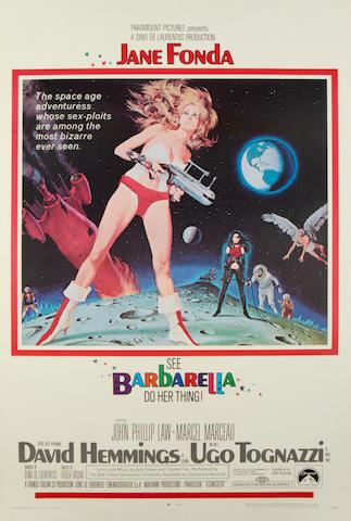 Barbarella, Paramount, 1968