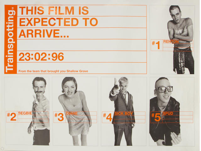Trainspotting, Channel Four Films/Figment Film, 1996,