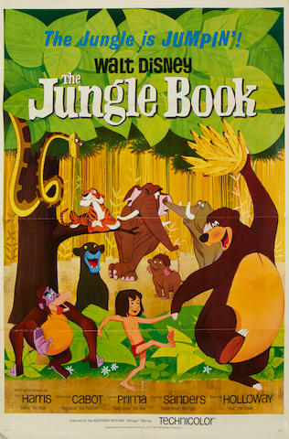 The Jungle Book  Walt Disney, 1967