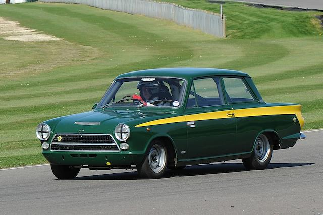 The ex-Giuseppe Lucchini,1963 Ford Lotus Cortina Saloon  Chassis no. Z74C066173U