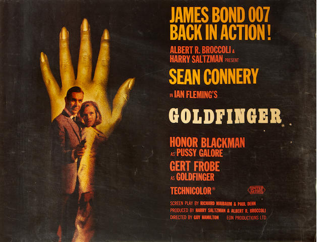 Goldfinger, United Artists/ Eon, 1964,