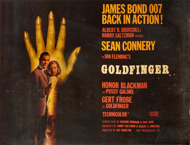 Goldfinger, Eon/United Artists, 1964,