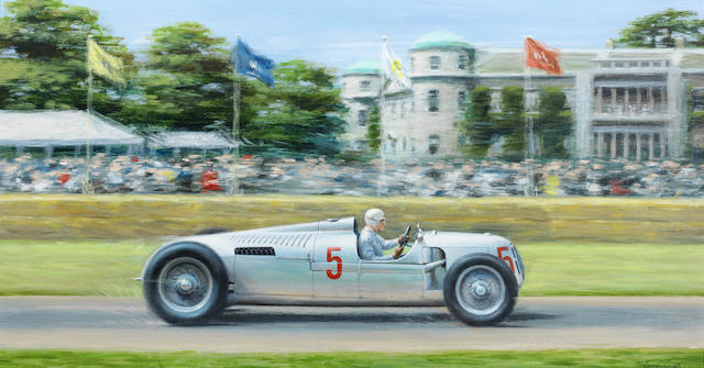 Tony Smith original, Goodwood, Auto Union
