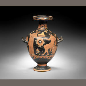 A South Italian red-figure hydria