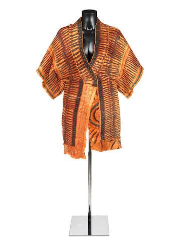 Chris Squire: a Zandra Rhodes tunic, 1970s,