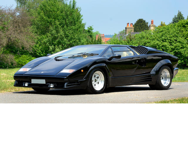 1989 Lamborghini Countash 25 Anniversary