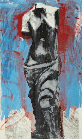 Jim Dine (American, born 1935) The Red, White and Blue Venus for Mondale