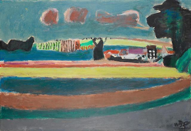 Henri Hayden (French, 1883-1970) Paysage