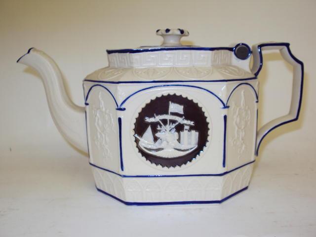 A Castleford-type teapot