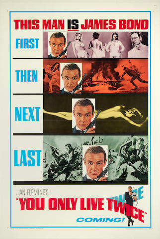 You Only Live Twice, Eon/United Artists, 1965,