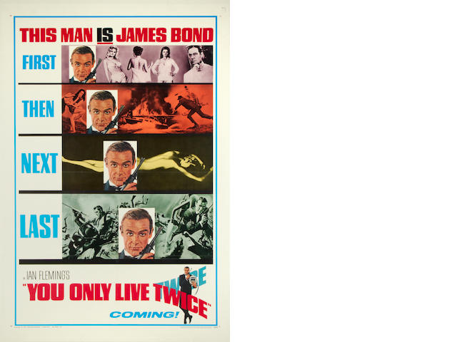 You Only Live Twice, United Artists, 1965,