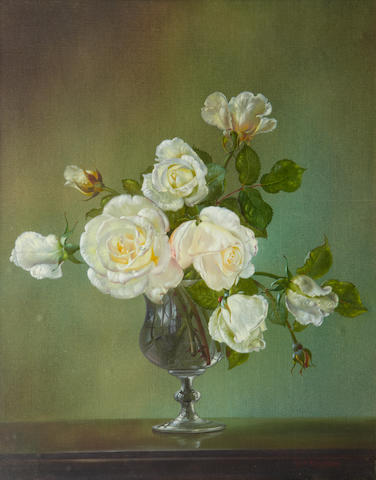 Cecil Kennedy (British, 1905-1997) White Roses