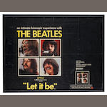 A film poster for 'Let It Be', 1970,