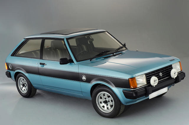 1983 Talbot Sunbeam Lotus Avon 'Hatchback' Saloon