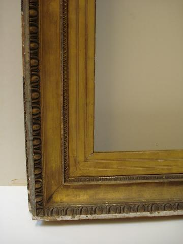 An English 19th Century gilded composition frame