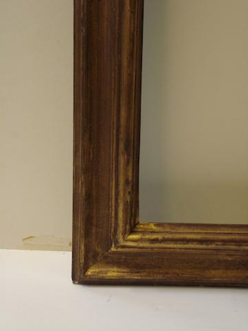 A pair of Spanish 19th Century gilded moulding frames