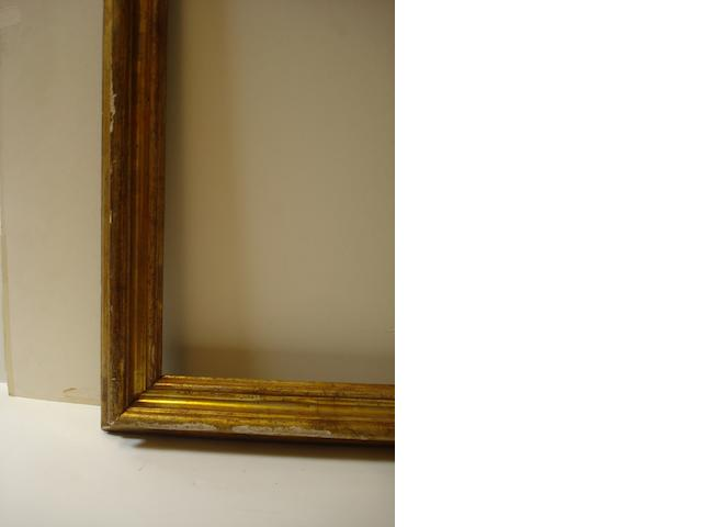 18th C Italian frame (possibly mecca gilded)