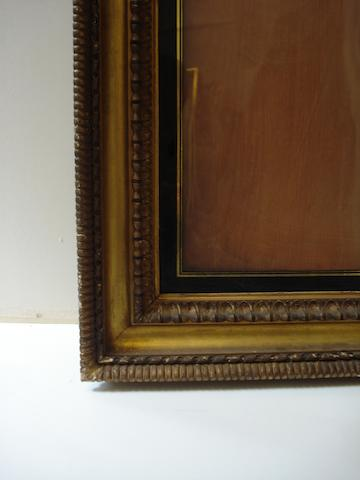 An English 18th Century carved and gilded Carlo Maratta frame