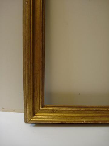 An Italian 18th Century gilded Salvator Rosa frame