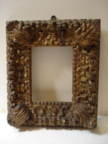 Italian frame circa 1700, and Italian circa 1600 (2)