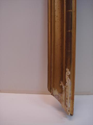 An Italian late 18th Century gilded moulding frame