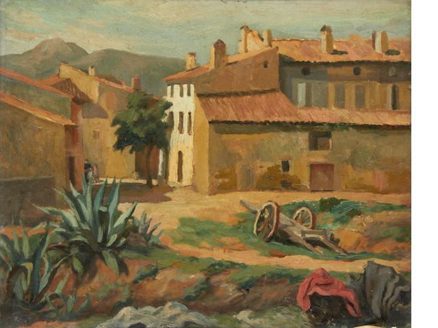 Roger Fry (British, 1866-1934) An Italian village