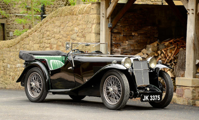 1933 MG L-Type Magna Tourer  Chassis no. L0454 Engine no. 737AL