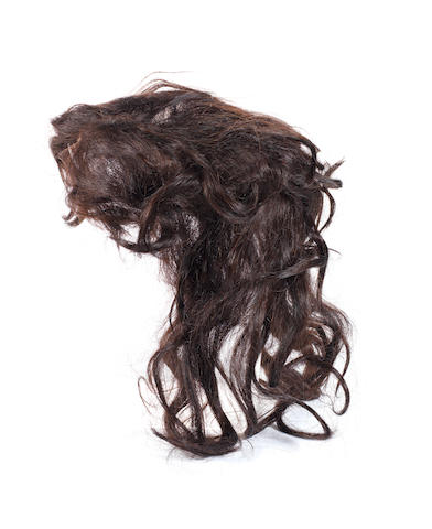Wham!: A wig worn during the filming of the 'Freedom' video, 1980s,