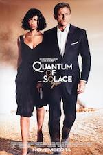 Quantum of Solace - Olga Kurylenko worn black Prada dress, 2008