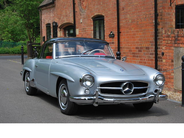 1958 Mercedes-Benz 190SL Roadster  Chassis no. 1210407503238 Engine no. 1219217503257