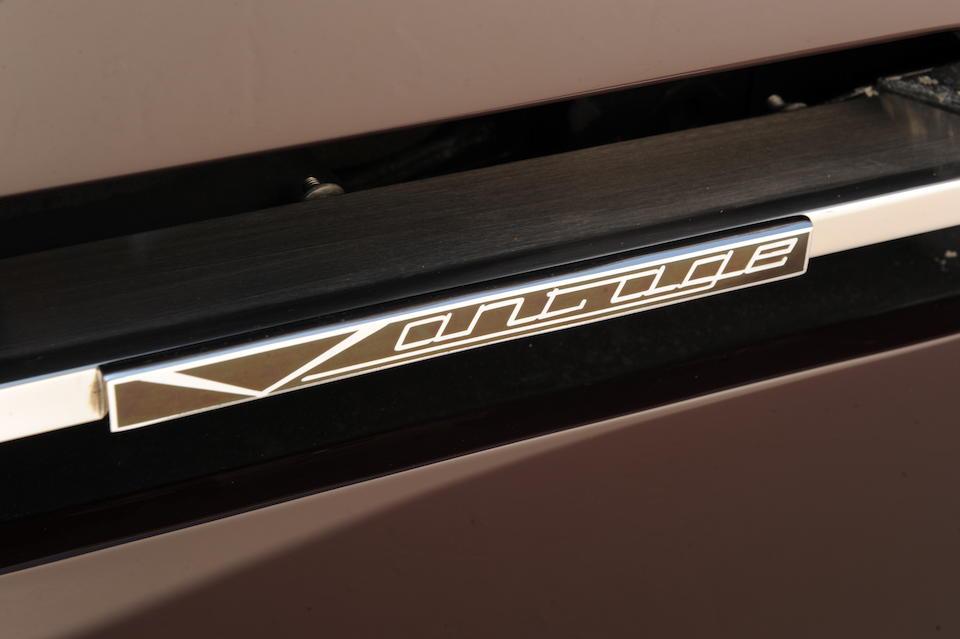 Originally the property of Sir Elton John,1985 Aston Martin V8 Vantage Saloon  Chassis no. SCFCV8/V8FTR12486 Engine no. V/580/2486/V