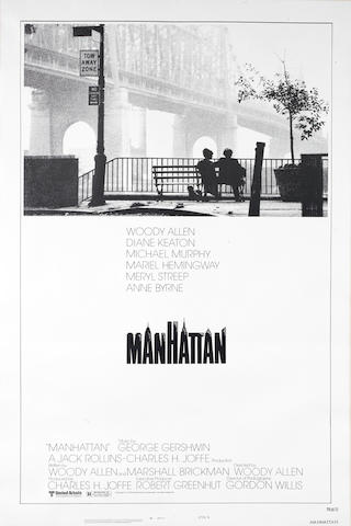 Manhattan, United Artists, 1979,