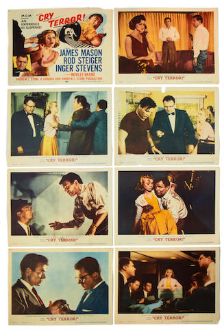 A collection of lobby cards, film posters and film stills,  1930s - 1960s