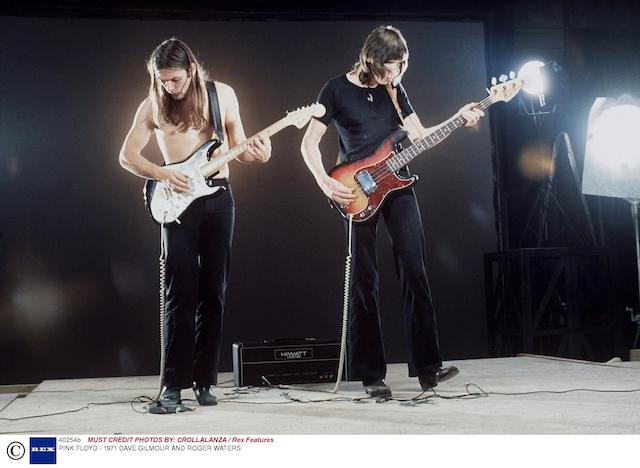 Roger Waters: a Fender Precision bass guitar, serial no. 274352,