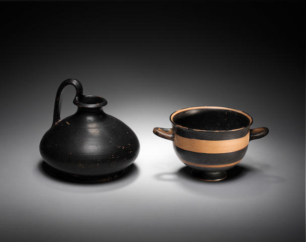 Two Classical pottery vessels 2