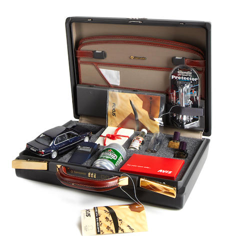 Tomorrow Never Dies: A limited edition promotional Samsonite attaché briefcase,