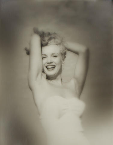 Andre de Dienes (American 1913-1985) - Marilyn Monroe, Tobey Beach, 1949,