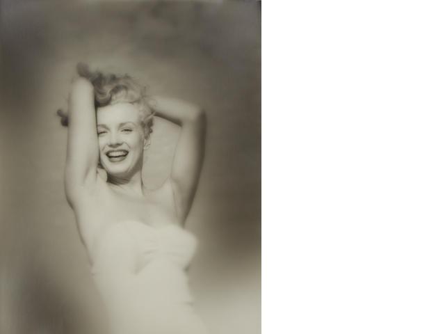 Andre de Dienes (American 1913-1985)- Marilyn Monroe, Tobey Beach