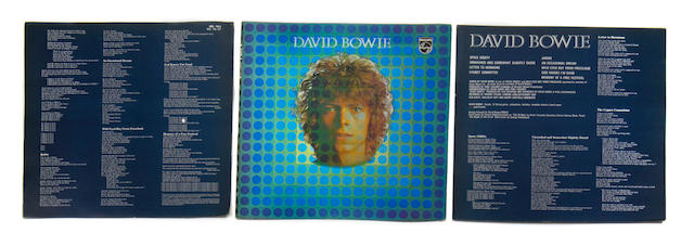 Rare cover proofs for the album 'David Bowie', 1969,