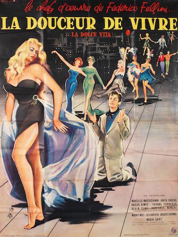La Dolce Vita (La Douceur De Vivre), Cineriz, 1960,