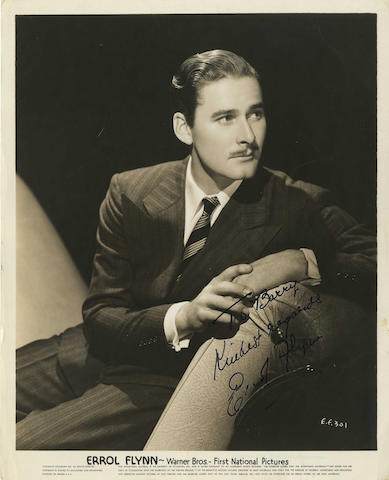 A group of Errol Flynn photographs, including some from his schooldays,