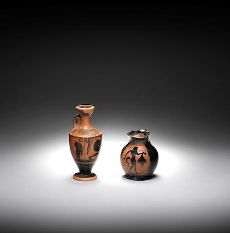 Two small Attic black-figure vessels 2
