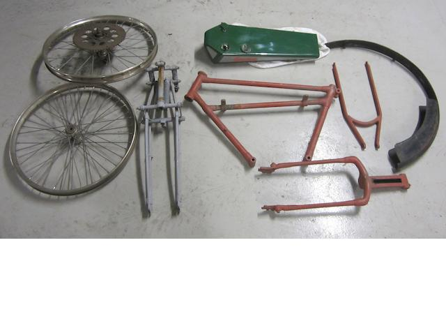 A Monopole frame and tank,