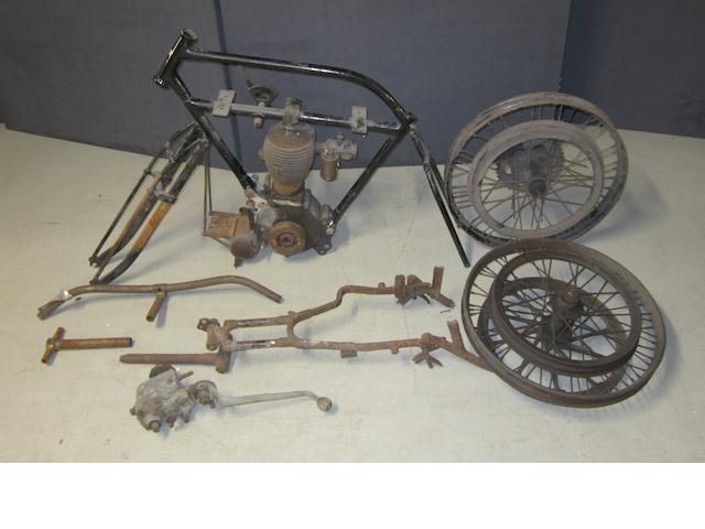 A 1915 BSA 4¼hp project,