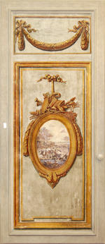 Set of four Continental 18th Century wall panels