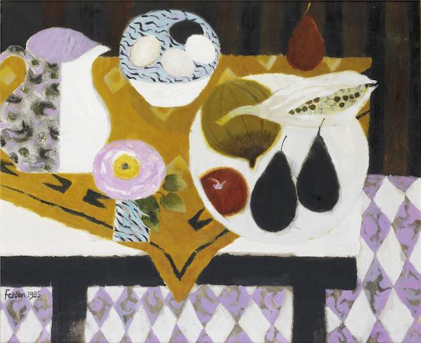 Mary Fedden R.A. (British, born 1915) Bowl of Eggs