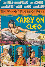 Carry On: Three British one-sheet posters, titles include;4