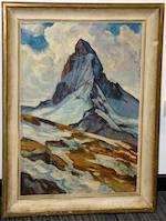 François Marc Eugène Gos (Swiss, 1880-1975) Mont Cervin