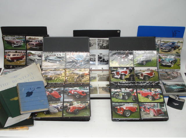 Approx 3000 photographs of collectors cars,