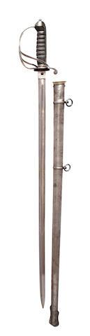 A Regimental 1821 Pattern Artillery Officer's Sword of the Royal Marine Artillery